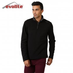 Evolite Fuga Bay Mikro Polar Sweater - Siyah
