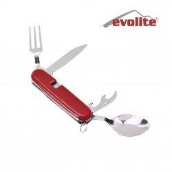 Evolite 6 Fonksiyonlu Kaşık Çatal Bıçak Seti